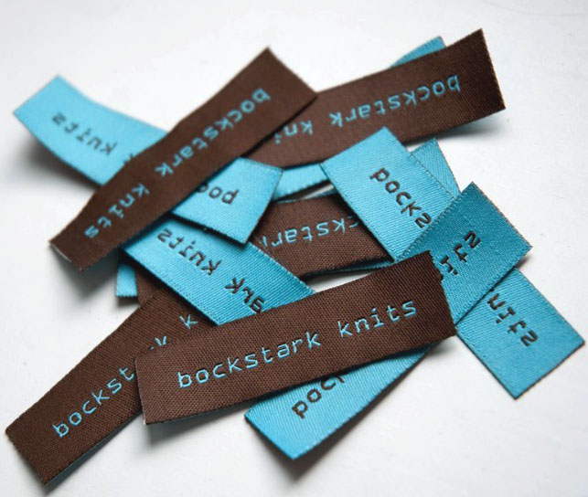 factory direct custom clothing labels with quality