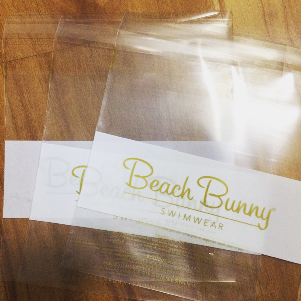 Beach Bunny Poly Bags